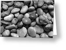 Pebbles Chesil Uk  Greeting Card