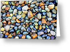 Pebbles Galore Greeting Card