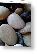 Pebbles Greeting Card by Jaime Neo