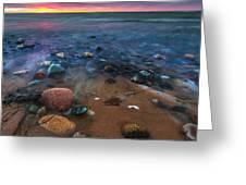 Pebbly Beach Greeting Card