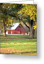 Pecan Orchard Barn Greeting Card