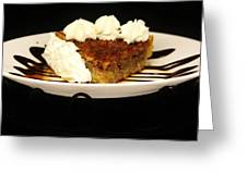 Pecan Pie Greeting Card
