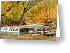 Pedelo Falls Greeting Card