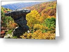Pedestal Rock Greeting Card