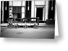 Pedicab Nyc Greeting Card