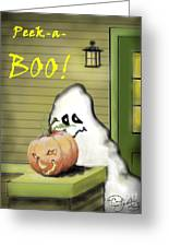 Peek-a-boo Greeting Card