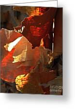Peeling Off The Layers Greeting Card