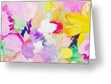 Pefect Birthday Flowers Greeting Card