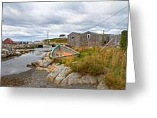 Peggy's Cove 12 Greeting Card