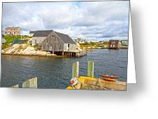 Peggy's Cove 6 Greeting Card