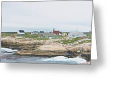 Peggys Cove Greeting Card