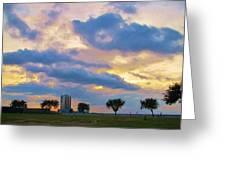 Lakeway Pelican Cloud Greeting Card