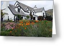 Pelican Inn Garden Greeting Card