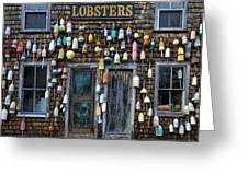 Pemaquid Lobster Shack Greeting Card