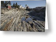 Pemaquid Point Light - Bristol Maine Greeting Card