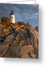 Pemaquid Point Light I Greeting Card