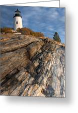 Pemaquid Point Light II Greeting Card