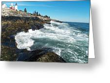 Pemaquid Point Lighthouse 1 Greeting Card