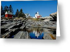 Pemaquid Point Reflections Greeting Card