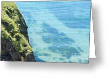Pembrokeshire Cliffs Greeting Card