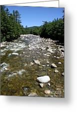 Pemigewasset River Nh Greeting Card