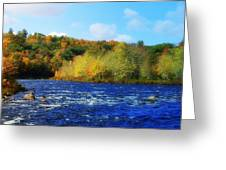 Pemigewassett River Greeting Card