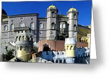 Pena National Palace Greeting Card