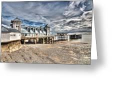 Penarth Pier 5 Greeting Card
