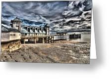 Penarth Pier 6 Greeting Card