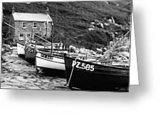 Penberth Cove Greeting Card