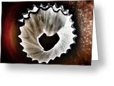 Pencil Shaving Heart Greeting Card