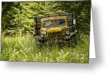 Pend Oreille Power Wagon Greeting Card