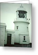 Pendeen Lighthouse Greeting Card