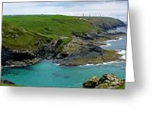 Pendeen Watch To Levant Greeting Card