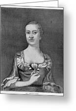 Penelope Barker (1728-1796) Greeting Card