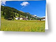 Penia - Fassa Valley Greeting Card