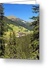 Penia - Val Di Fassa Greeting Card