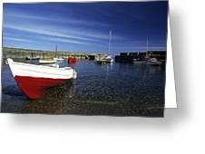Pennan Harbour Scotland Greeting Card