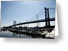 Penns Landing Marina Greeting Card