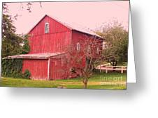 Pennsylvania Barn  Cira 1700 Greeting Card