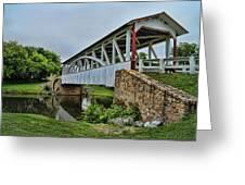Pennsylvania Covered Bridge Greeting Card