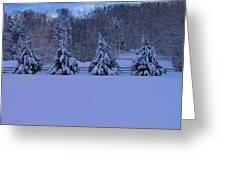 Pennsylvania Snowy Wonderland Greeting Card