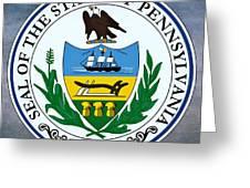 Pennsylvania State Seal Greeting Card