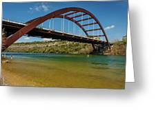 Pennybacker 360 Bridge, Austin, Texas Greeting Card