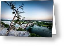 Pennybacker Bridge Austin Greeting Card