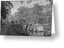 Pennyfield Lock Chesapeake And Ohio Canal Greeting Card