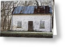 Pennyfield Lockhouse On The C And O Canal In Potomac Maryland Greeting Card