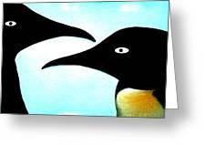 Penquin Love Greeting Card