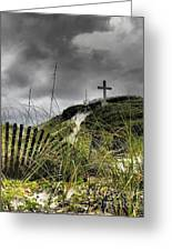 Pensacola Beach Cross Greeting Card