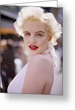 Beauty Of Marilyn Monroe Greeting Card